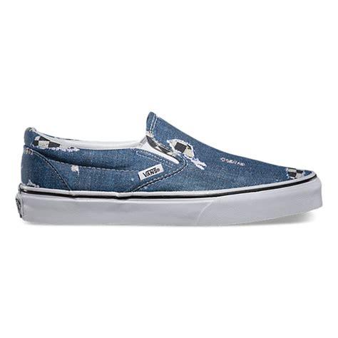 Vans Denim Slip On vans 174 shoes clothing more