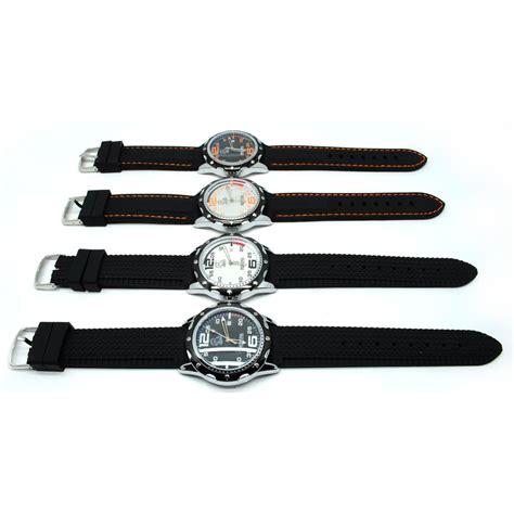 Mortima Jam Tangan Sporty Pria Rubber Model 17 mortima jam tangan kasual pria rubber model 3 orange jakartanotebook