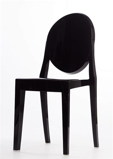 Black Ghost Chair by Black Armless Ghost Chair Rpc Ghost Armless Bl By