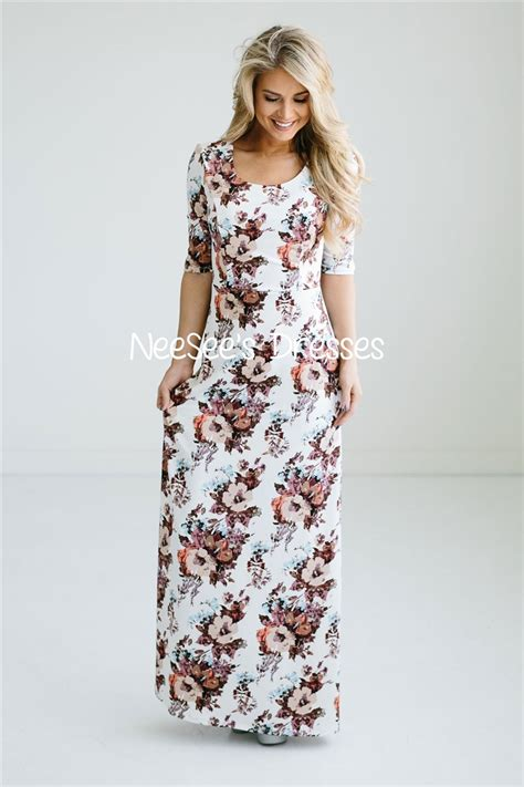Modest Maxi Dresses by Pretty Floral Modest Maxi Dress Beautiful Modest