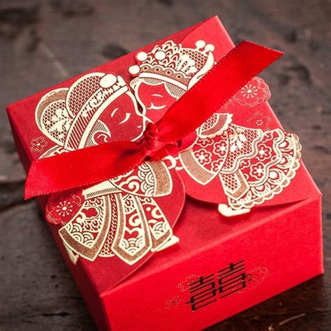 Wedding Favors And Gifts by Cheap Wedding Favor Boxeswith Ribbon Wedding