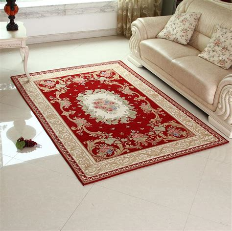 Sunnyrain Luxury Red Carpets And Rugs For Living Room Decorative Rugs For Living Room