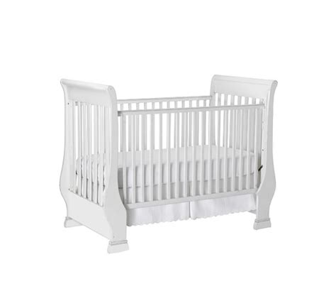 Sleigh Fixed Gate Crib Pottery Barn Kids Pottery Barn Baby Crib