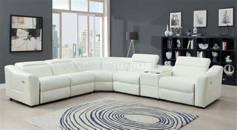 instrumental sectional sofa bonded leather  homelegance