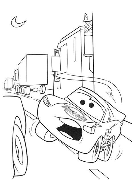 free coloring pages of rayo mcqueen