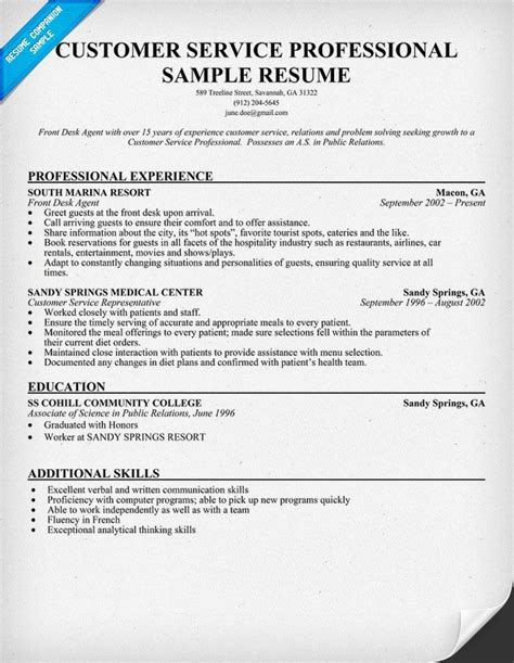 federal resumes sles resume analytical thinker