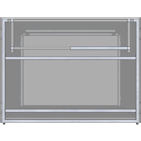 48 inch island cabinet universal 48 inch ready to finish bbq island appliance and
