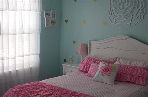 pink and teal bedroom finley s aqua pink gold and white big girl room