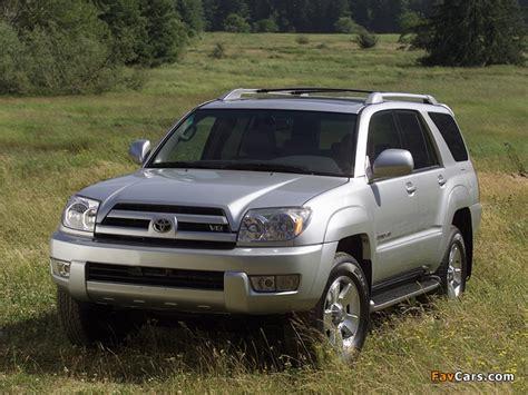 05 Toyota 4runner Toyota 4runner Limited 2003 05 Wallpapers 640x480