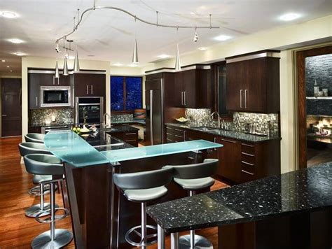 Modern Luxury Kitchen With Granite Countertop 60 Ultra Modern Custom Kitchen Designs Part 1