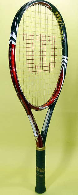 Raket Wilson Original jual raket tenis wilson blx khamsin five fx original wimbledonsports