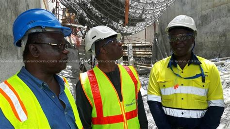 Conocophillips Mba Salary by Amewu Visits Ahafo Newmont After Killed 6 Workers