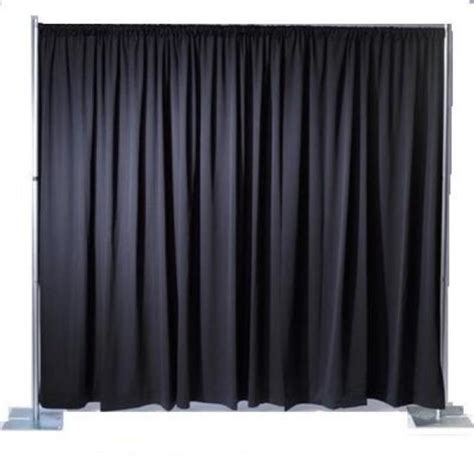 pipe and drape rental atlanta premier pipe drape kit 12 foot tall rentals atlanta ga