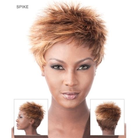 hair products to spike women hair wigs human hair spiked realistic lace front wig