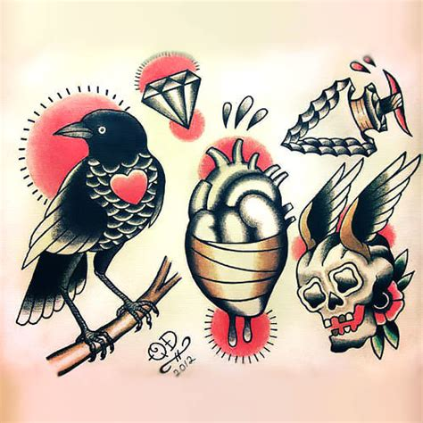 buy tattoo design traditional design