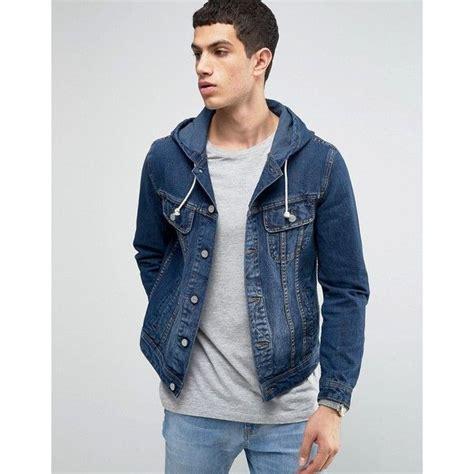 hooded jean jacket 25 best hooded denim jacket mens ideas on