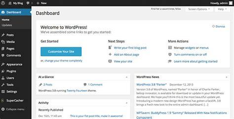 wordpress tutorial non blog how to customize the wordpress dashboard