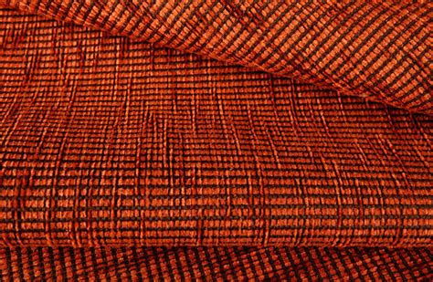 Orange Upholstery Fabric Apero Upholstery Fabric In Burnt Orange Traditional