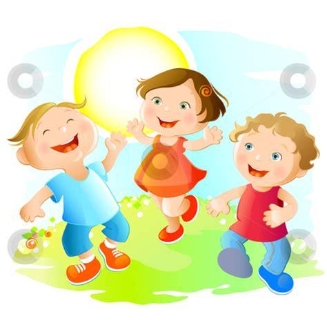 Clipart Happy Children