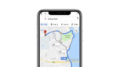 google haritalardan yolcu dolastiran taksileri