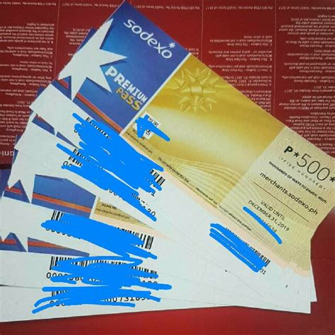 Voucher Sodexo Gift sodexo gift certificates tickets vouchers gift cards vouchers on carousell