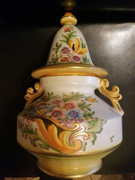 vaso deruta gialletti deruta vaso ceramica catawiki