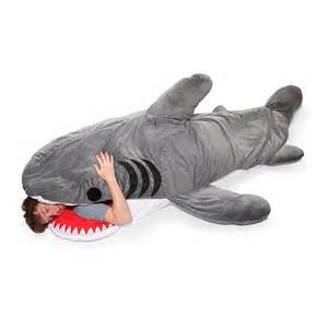chumbuddy shark sleeping bag the green head