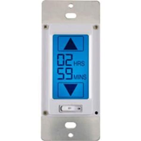 lcd touchscreen in wall countdown timer 49817 at the home