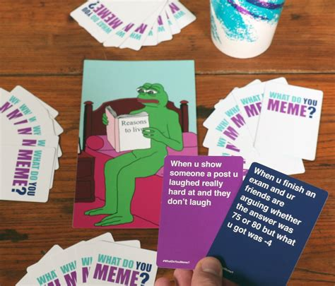 Meme Board Game - what do you meme card game popsugar australia tech
