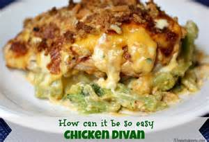 easy chicken divan easy chicken divan recipe