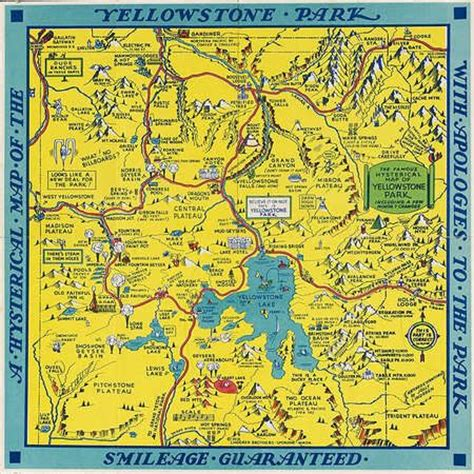 yellowstone national park map usa 45 best yellowstone trip 2014 images on