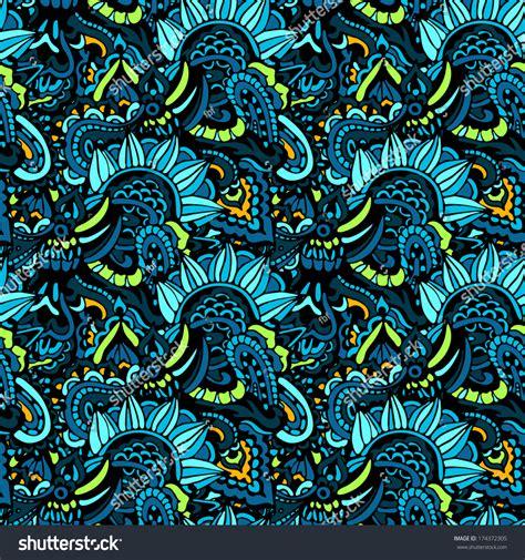 hippie vector pattern ethnic seamless pattern hippie vector stock vector