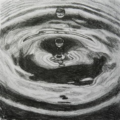 drawing in water pencil drawings drawing ideas