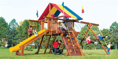 rainbow swing set for sale rainbow play sets awesome outdoor products