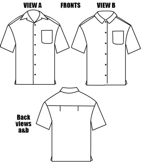 pattern man shirt free islander sewing systems 208 men s islander shirt pattern