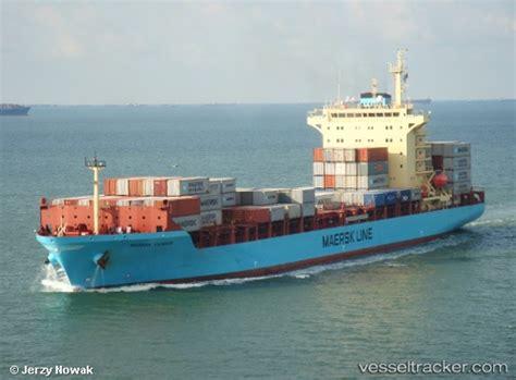 maersk vessel schedule to maersk vilnius type of ship cargo ship callsign