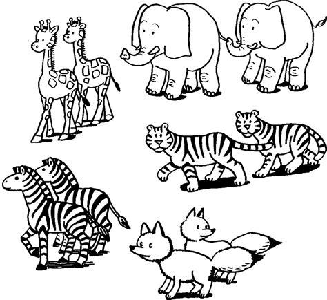 animal printouts  noahs ark visit coloringlab