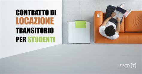 contratto di locazione per studenti fuori sede contratto di locazione transitorio per studenti fisco 7