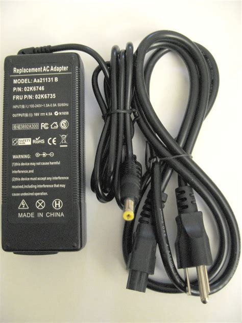 Ac Panasonic Low Voltage ac adapter charger for panasonic toughbook part cf