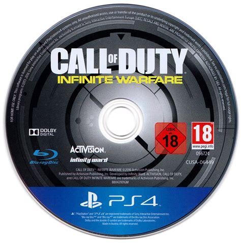 Bluray Ps4 Call Of Duty Infinite Warfare call of duty infinite warfare legacy pro edition dvd cover label 2016 german custom ps4