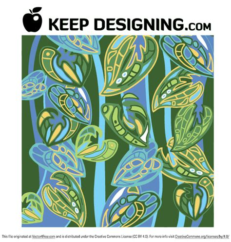 jungle pattern vector jungle wallpaper pattern vector free free vector