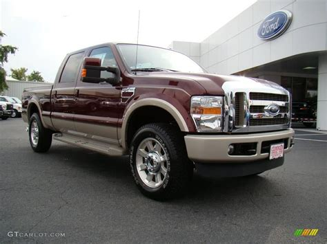 Ford F250 King Ranch by 2010 Royal Metallic Ford F250 Duty King Ranch