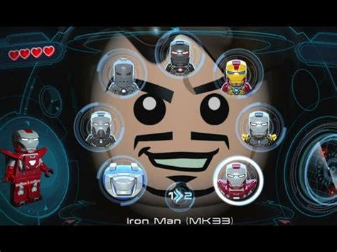 lego marvels avengers vita playable iron man