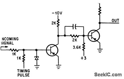 tunnel diode lifier tunnel diode volitage comparator lifier circuit circuit diagram seekic