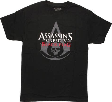Black Flag Tshirt assassins creed iv black flag logo t shirt