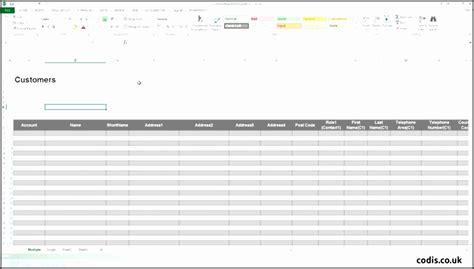 7 Customer Database Sheet Template Sletemplatess Sletemplatess 300 Import Templates Excel