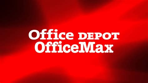 Office Depot Unsubscribe Office Depot And Officemax Logos