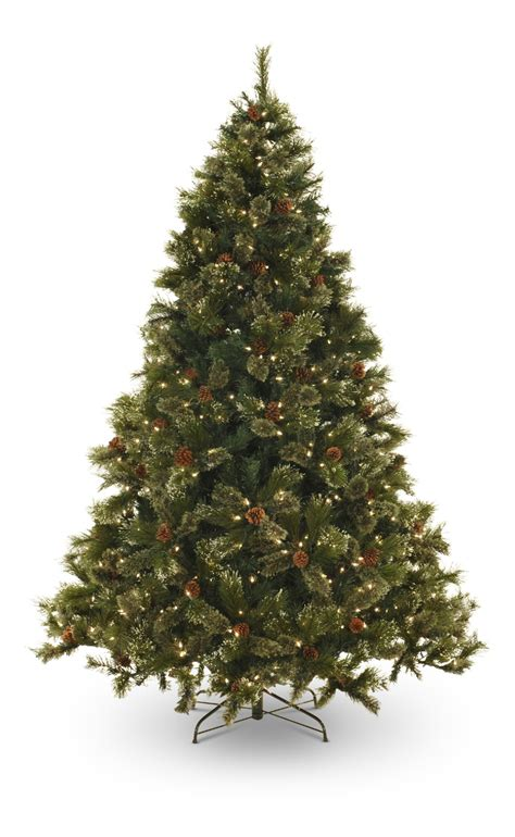 majestic noelpine artificial christmas tree oregon pine 7 5 pre lit artificial a gabberts