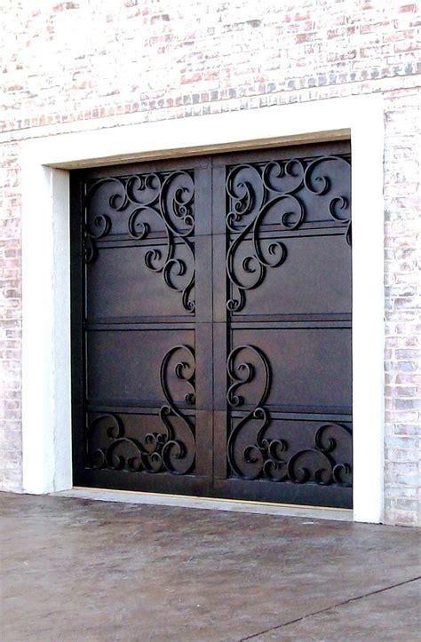 wrought iron garage doors 25 best ideas about iron doors on wrought