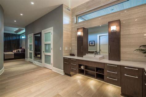 contemporary master bathroom sleek contemporary master bathroom teresa ryback hgtv